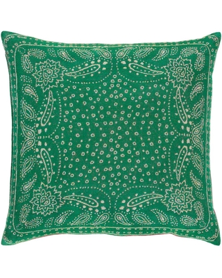 Artistic Weavers Blackwell Green Graphic Polyester 20 in. x 20 in. Throw Pillow