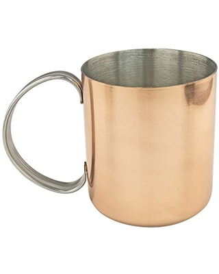 Southern Homewares Copper Moscow Mule Mug w/Stainless Steel Lining Moscow Mule Cups Copper Cups Copper Mugs Moscow Mule Set