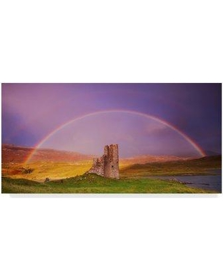 "Trademark Art 'Ardvreck Castle' Photographic Print on Wrapped Canvas ALI29625-CGG Size: 12"" H x 24"" W x 2"" D"