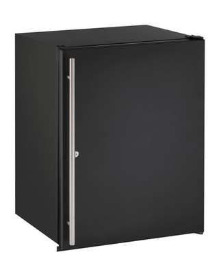 """U-ADA24RB-13B 24"""" Energy Star Rated ADA Series Built-In Solid Door Compact Refrigerator with 5.3 cu. ft. Capacity Convection Cooling System Digital"""