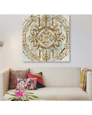 "East Urban Home 'Boho Medallion II' Graphic Art Print on Canvas ETRB3961 Size: 26"" H x 26"" W x 0.75"" D"
