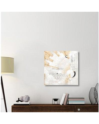 "East Urban Home 'Geosfera' Graphic Art Print on Canvas ERBR1476 Size: 30"" H x 30"" W x 1.5"" D"