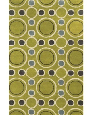 Rizzy Home Hand-tufted Gillespie Avenue Wool and Viscose Accent Rug (9' x 12') (9' x 12' - Gold)