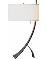 Stasis with Drum Shade Hubbardton Forge Table Lamp