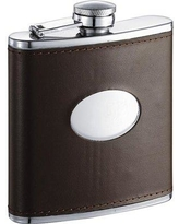 Visol Products Groomsmen Hip Flask VF5018