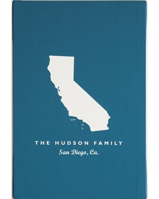 Personalized RedEnvelope States Gallery Wall Art 12x16 or 18x24