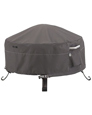 Classic Accessories Ravenna Water-Resistant 36 Inch Round Fire Pit Cover