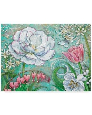 "Trademark Fine Art 'Spring Breath' Graphic Art Print on Wrapped Canvas ALI31210-CGG Size: 24"" H x 32"" W x 2"" D"