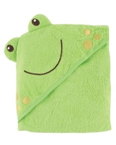 Baby Vision® Luvable Friends® Frog Embroidery Hooded Towel