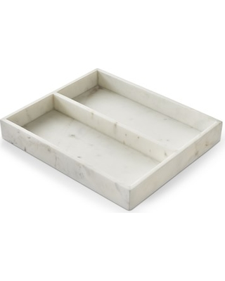 Marble Utensil & Accessories Tray