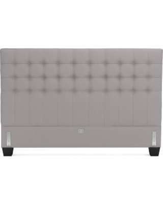 Fairfax Headboard Only, King, Signature Velvet, Sharkskin