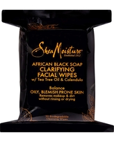 SheaMoisture African Black Soap Facial Cleansing Wipes 30 ct