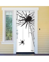 The Holiday Aisle Spiders Halloween Front Door Mural BF154510