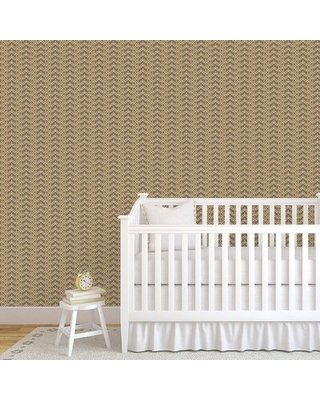 """Lemaster Thatcher 48"""" L x 24"""" W Paintable Peel and Stick Wallpaper Panel Wrought Studio™"""