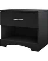 Timeless Nightstand Black - South Shore