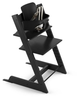 Stokke® Tripp Trapp® High Chair in Black