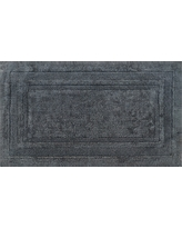"Performance Cotton Bath Rug Radiant Gray (20""x34"") - Threshold"