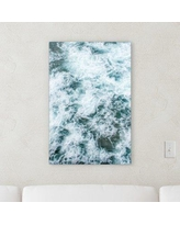"""Orren Ellis 'Abstract Style' Graphic Art Print on Wrapped Canvas BF066205 Size: 9"""" H x 6"""" W x 2"""" D"""