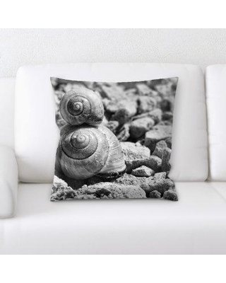 Great Prices For East Urban Home Snails Throw Pillow Microsuede Polyester Polyfill In Green Size 18x18 Wayfair 19440dcbb5864a1599a48683e48737fa
