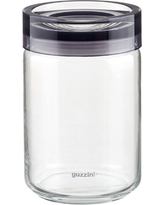 Grigio Glass Canister