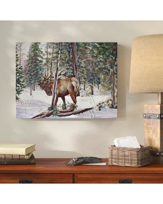 "Millwood Pines 'In The Shadows' Acrylic Painting Print on Wrapped Canvas MLWP5022 Size: 35"" H x 47"" W x 2"" D"