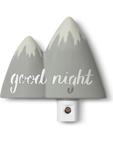 Automatic Nightlight Mountain - Cloud Island - Gray