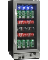 NewAir 96 Can Beverage Cooler - Stainless Steel (Silver) Abr-960