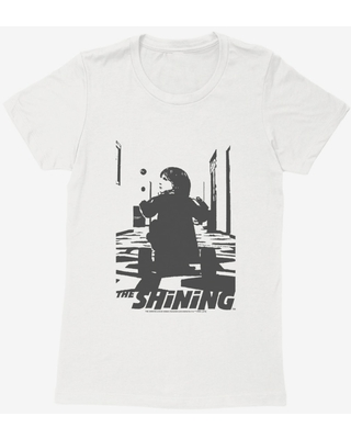 The Shining Danny On Tricycle Womens T-Shirt