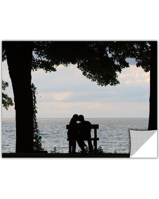 """ArtWall 'Silhouette' by Cody York Photographic Print Removable Wall Decal 0yor055 Size: 24"""" H x 36"""" W x 0.1"""" D"""