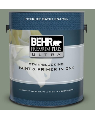 Spectacular Deals On Behr Ultra 1 Gal Qe 45 Thistle Extra Durable Satin Enamel Interior Paint And Primer In One