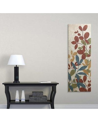"""Great Big Canvas 'Leaves of Color I' Graphic Art Print 1052594_1 Size: 48"""" H x 16"""" W x 1.5"""" D Format: Canvas"""