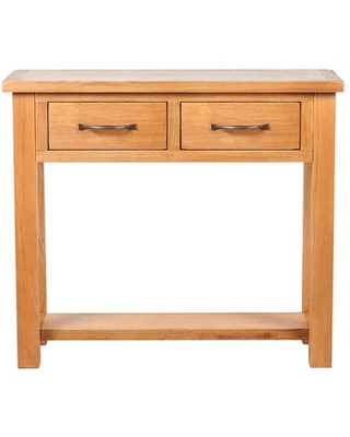 """32.75"""" Solid Wood Console Table"""