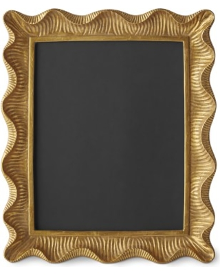 Great Deal on AERIN Gold Scalloped Gallery Frame, 8\