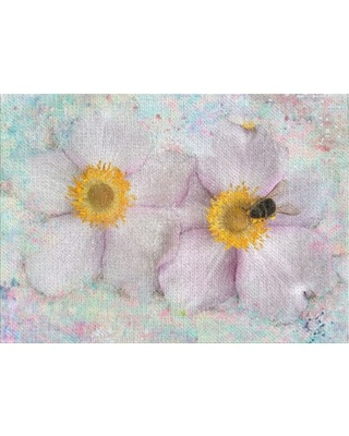 Flower Pink Area Rug East Urban Home Rug Size: Rectangle 2' x 4'