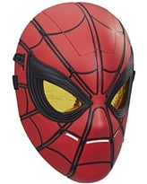 Marvel Spider-Man Glow FX Mask Electronic Wearable Toy With Light-Up Eyes For Role Play
