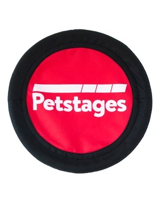 Petstages Soft Fetch Flyer Dog Toy, Red, Large