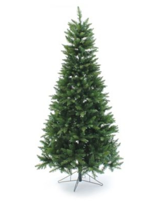 Perfect Holiday 6.5-Foot Pre-Lit Slim Artificial Christmas Tree