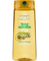 Garnier Fructis with Active Fruit Protein Triple Nutrition Fortifying Shampoo with Avocado, Olive & Almond Oils - 22oz