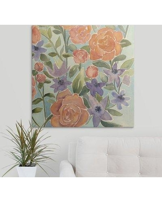 """Great Big Canvas 'Flowers for Lilly IV' Grace Popp Painting Print 2330219_1_ Size: 8"""" H x 8"""" W x 1.5"""" D Format: Canvas"""