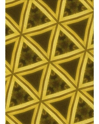Find The Best Deals On Ardavazt Geometric Yellow Gray Rug Ebern Designs Rug Size Rectangle 2 X 4