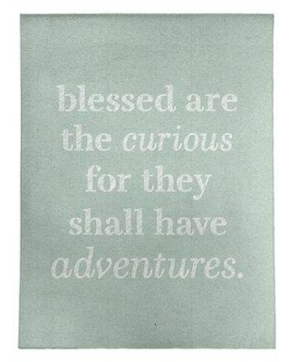 East Urban Home Handwritten Curiosity Inspirational Quote Poly Chenille Rug FCLS7636 Rug Size: Rectangle 8' x 10'
