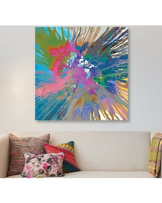 """East Urban Home 'Unabashed III' Painting Print on Canvas FTVS0780 Size: 26"""" H x 26"""" W x 0.75"""" D"""