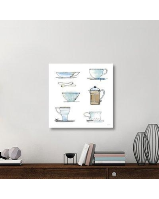 "East Urban Home 'Good Brew XI' Graphic Art Print on Canvas UBAH6018 Size: 30"" H x 30"" W x 1.5"" D"