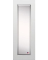 """Darby Home Co Rectangle Body Mirror DRBC5425 Size: 59.5"""" H X 20.5"""" W, Frame Color: White"""