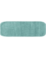 Garland Deco Plush Nylon Bath Rug Runner - 22'' x 60'', Blue
