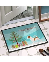 """The Holiday Aisle Jack Russell Door Mat THLA4132 Mat Size: 1'6"""" x 2'3"""""""