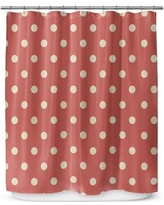 "Kavka Dots 72"" Shower Curtain SCT-SPLSC-70X72-TEL1367"