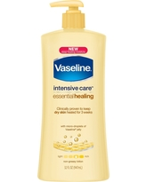 Vaseline Intensive Care Body Lotion Essential Healing 32 oz