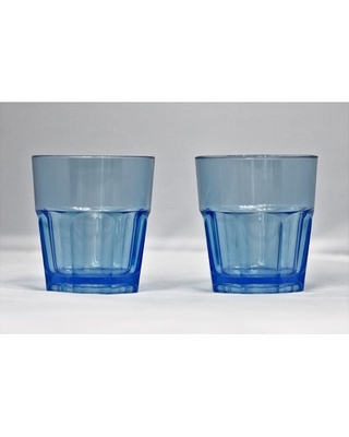 Middlewich 9 oz. Plastic Drinking Glass Highland Dunes Color: Blue