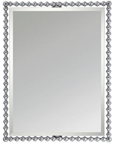 "Quoizel Shelburne Chrome 25 1/2"" x 33"" Steel Mirror"
